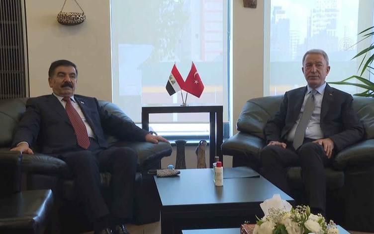 Akar, Irak Savunma Bakanı ile sınır ötesi operasyonlar ve PKK'yi görüştü!