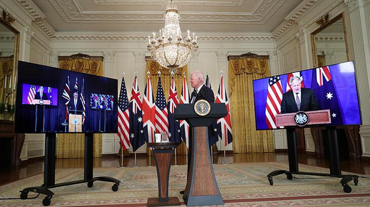 ABD, İngiltere ve Avustralya'nın anlaşmasına Çin'den tepki!
