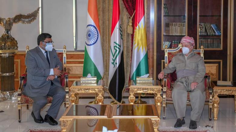 Başkan Barzani, Hindistan'ın Bağdat Büyükelçisi Yadav ile görüştü!