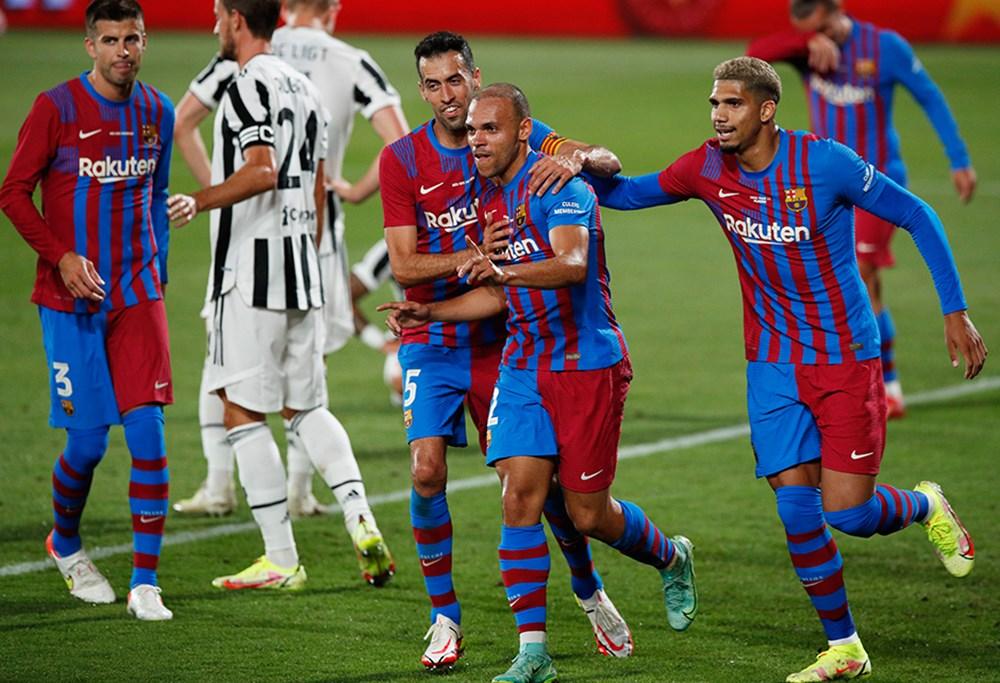 Messi'siz Barcelona ilk kupayı kazandı