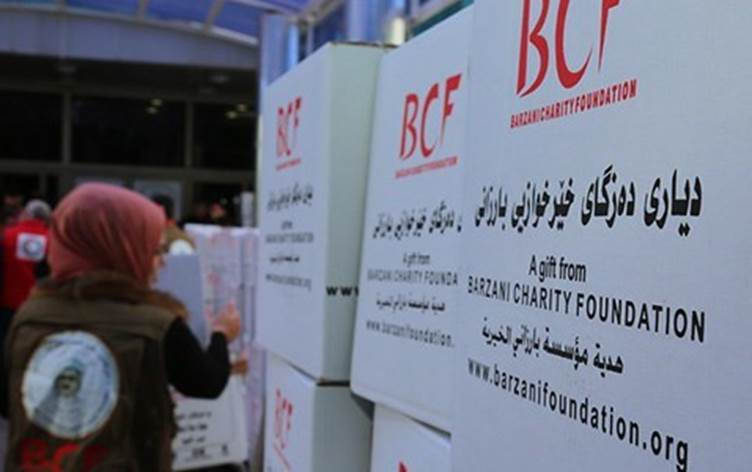 Barzani Yardım Vakfı'ndan Rojava'ya tıbbi malzeme yardımı