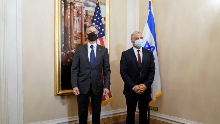 Blinken ve Lapid görüştü: ABD-İsrail ilişkisinde yeni dönem!
