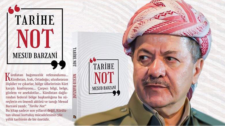 """Başkan Barzani'nin """"Bo Dîrokê"""" kitabının Türkçesi çıktı"""