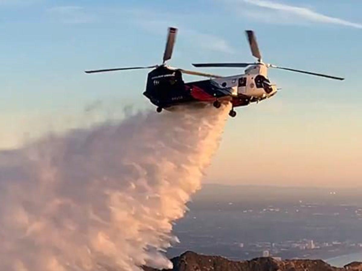 ABD'den Türkiye'ye CH-47 'Chinook' helikopteri ile destek!