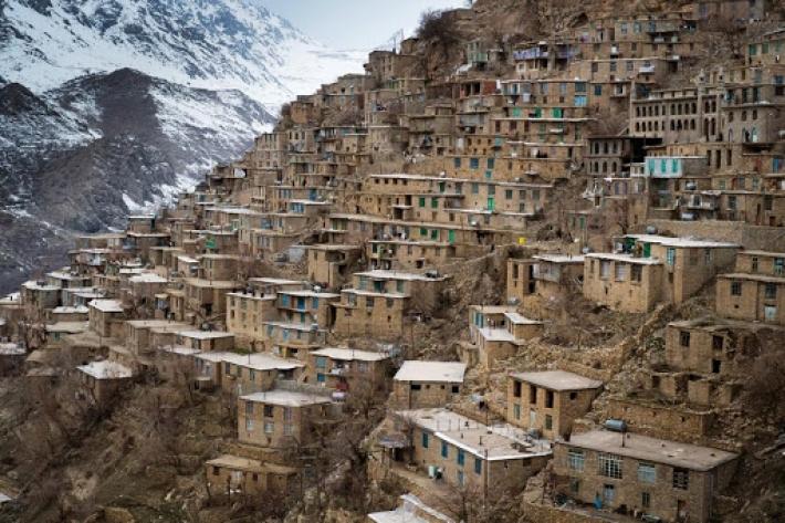 Rojhilat | Hewraman UNESCO Dünya Mirası Listesi'ne girdi