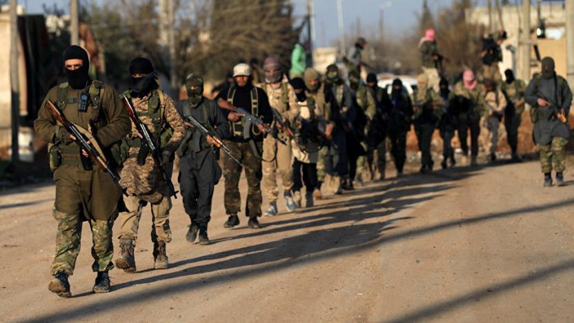 Efrin'de cihatçı gruplar birbiri ile çatıştı!