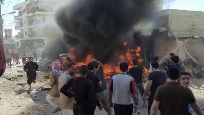 Efrin'de bombalı saldırı: 3 ölü, 6 yaralı!