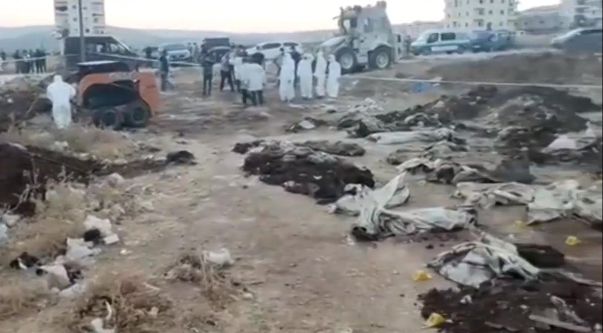 Rojava | Efrin'de bir toplu mezar bulundu!