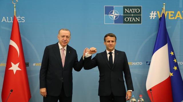 Erdoğan ve Macron Libya için bazı noktalarda anlaştı!