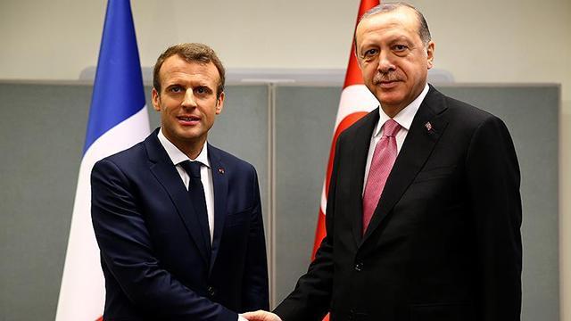 Macron - Erdoğan görüşmesi başladı!