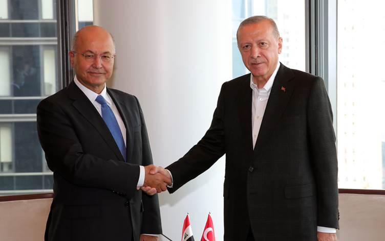 Berhem Salih, New York'ta Erdoğan'la ikili ilişkileri görüştü