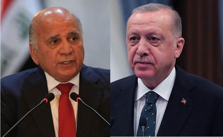 Erdoğan, Irak Dışişleri Bakanı Hüseyin ile görüştü