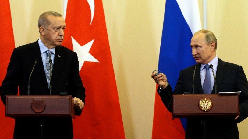 Putin, Maraş'ta düşen Rus uçağı ile ilgili Erdoğan'a mesaj!