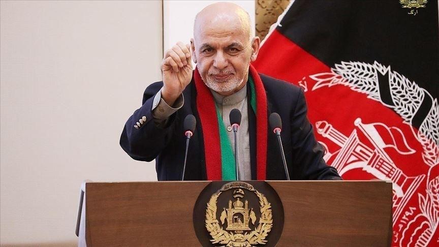 Afganistan'dan kaçan Eşref Gani'nin yakalanması için Interpol'e başvuruldu!