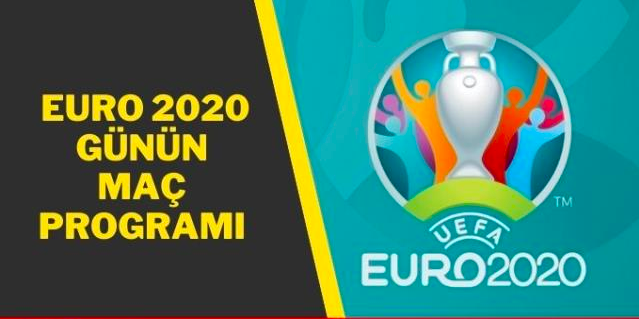 Euro 2020'de bugün hangi maçlar oynanacak?