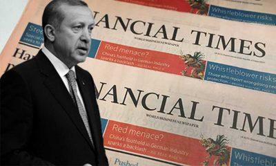 Financial Times: Erdoğan'a destek en düşük seviyede