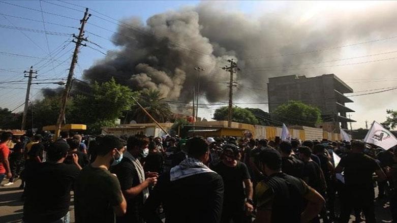 Irak'ta Haşdi Şabi karargahına İHA saldırısı!