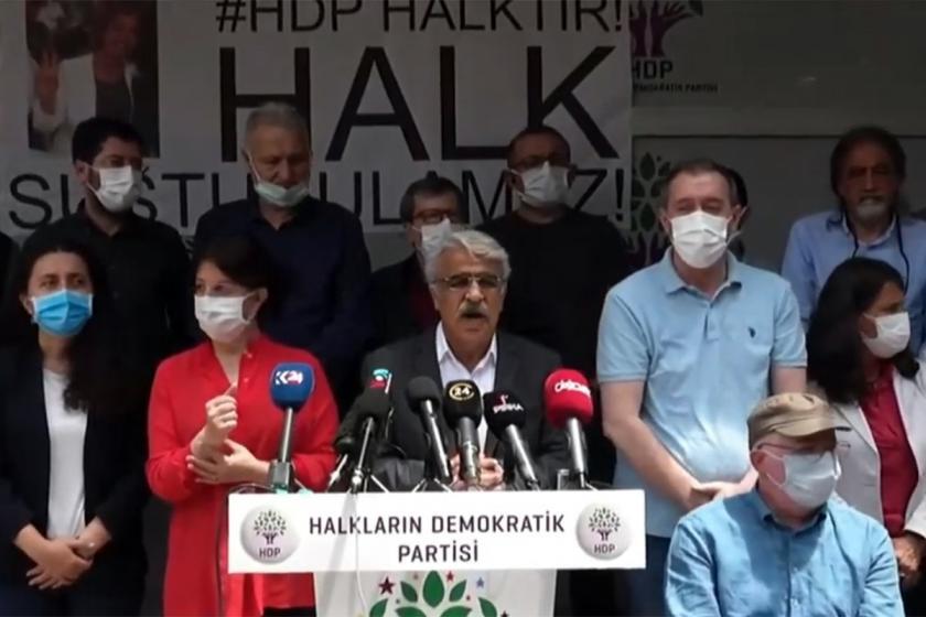 AYM'nin kapatma kararına ilişkin HDP'den ilk açıklama