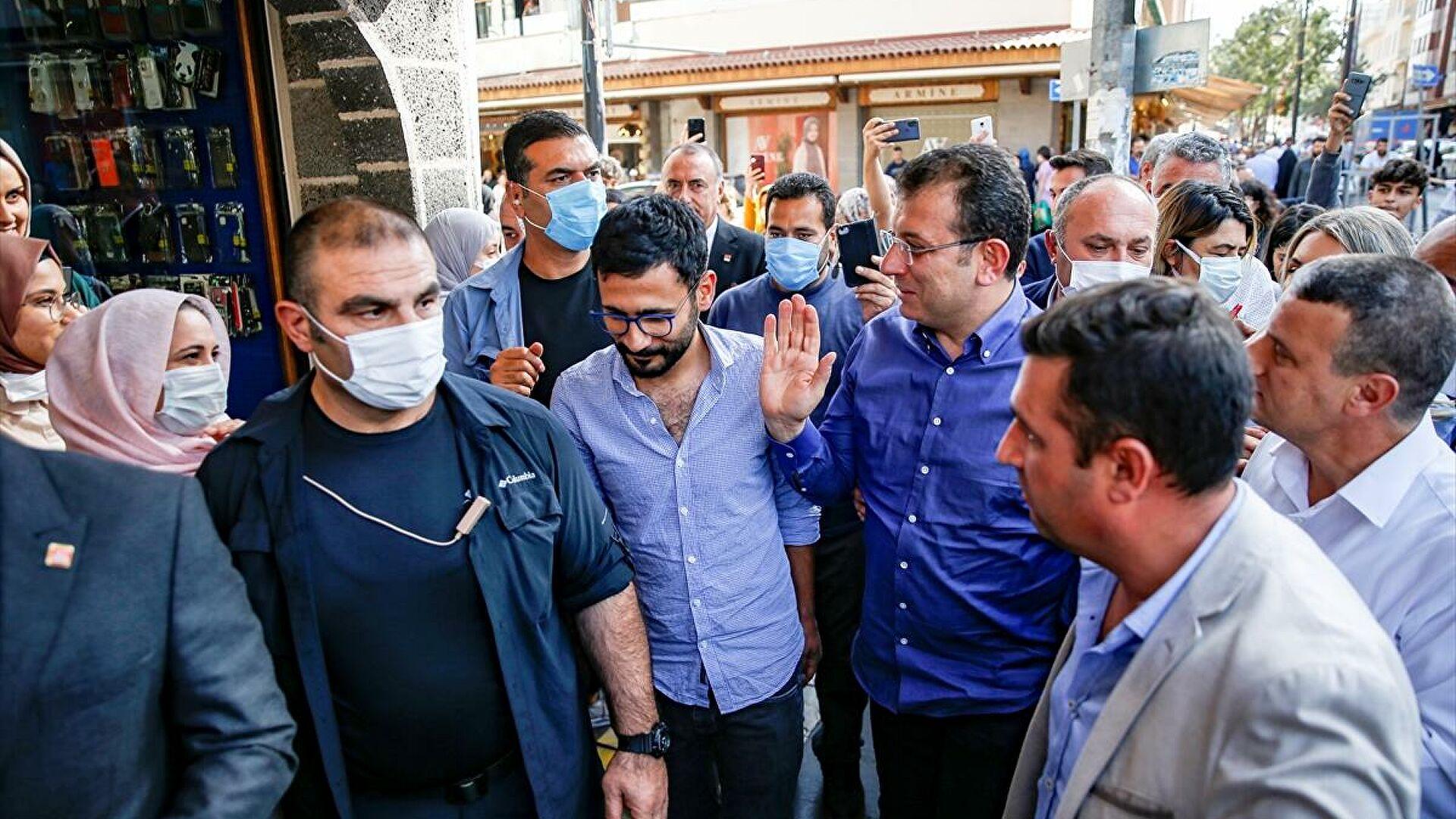 Diyarbakır'da İmamoğlu'na Cumhurbaşkanlığı adaylığı sorusu!