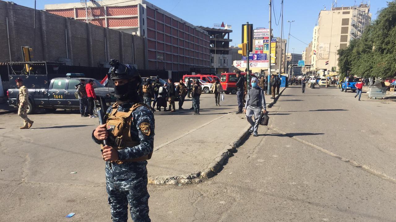 Irak polisi: Bağdat'taki patlamada ölü ve yaralılar var!