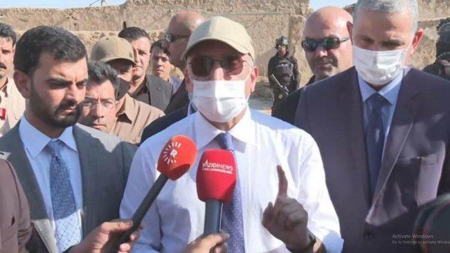 Irak Başbakanı Kazımi Şengal'i ziyaret etti