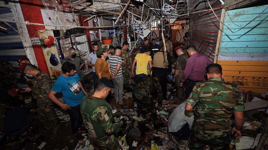 Irak   Bağdat'ta patlama 22 ölü, 47 yaralı!