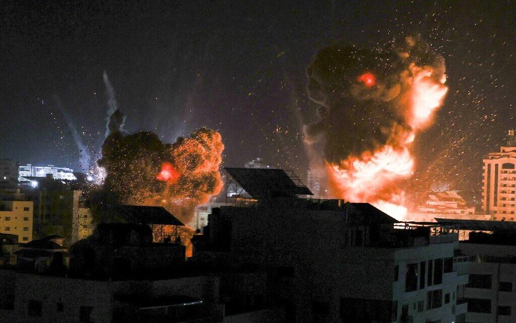 İsrail'den Gazze Şeridi'ne hava saldırısı!