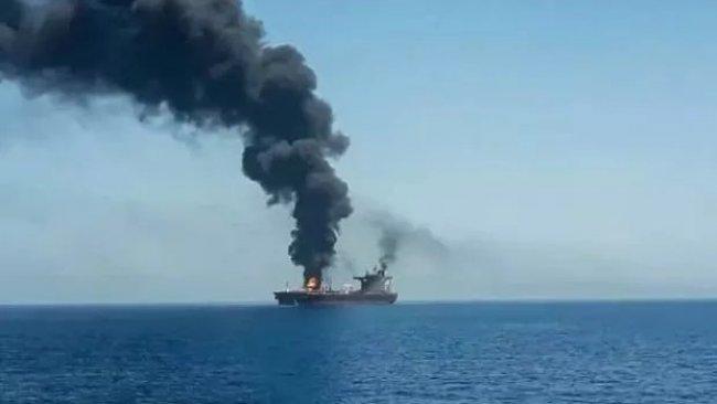 """İran'dan Umman'daki gemi saldırısına """"şüpheli"""" yanıtı!"""