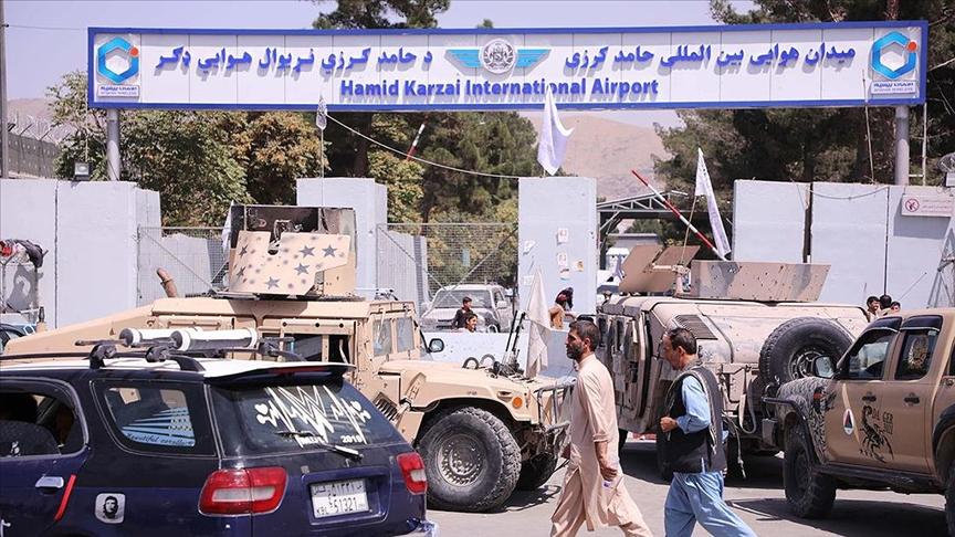 ABD'den Afganistan'daki çekilme süreci sonrası bir ilk!