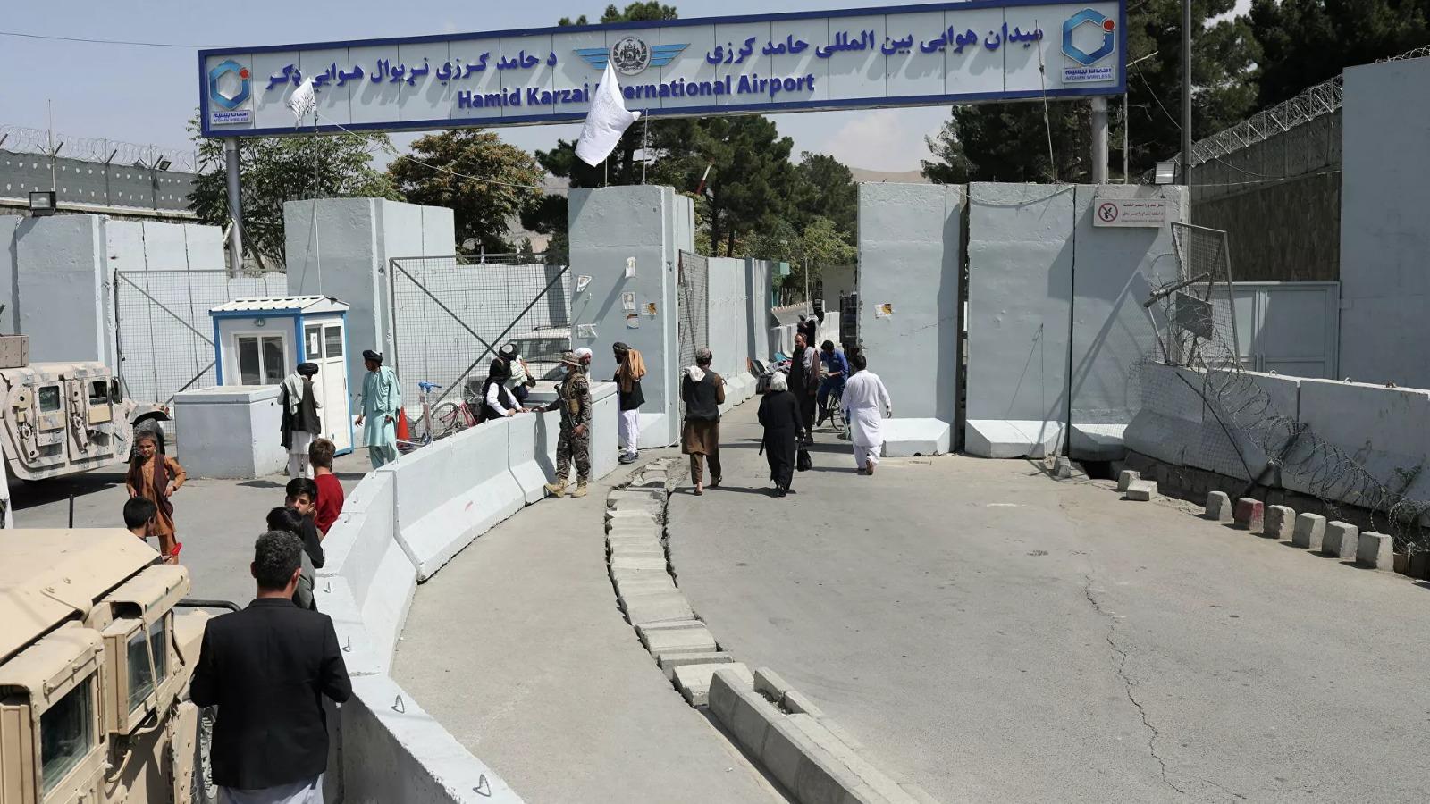 Taliban kontrolündeki Kabil Havalimanı'nda bir ilk daha yaşandı!