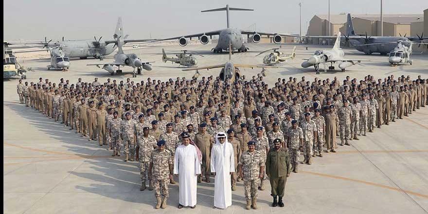 Katar savaş uçakları ve askerleri Türkiye'ye geliyor!