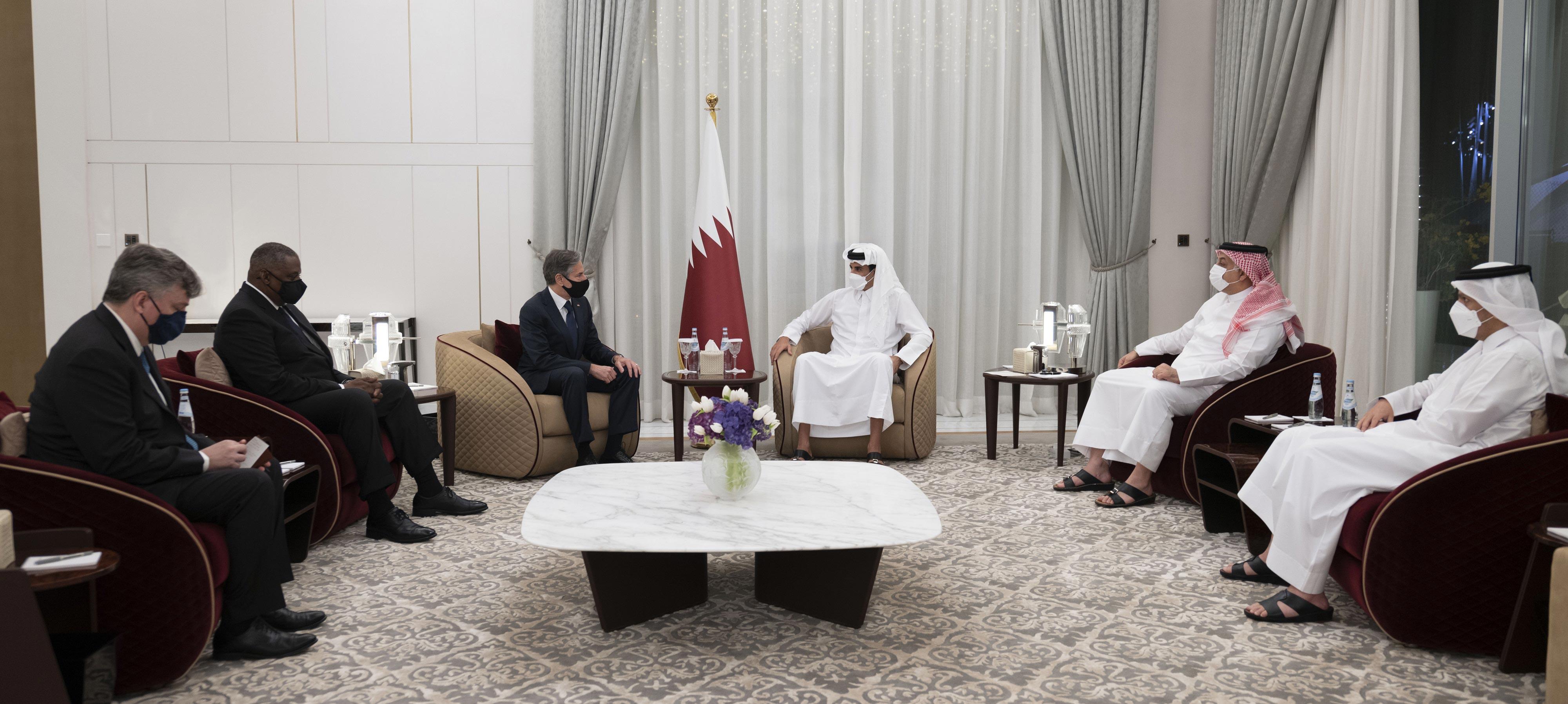 ABD'li bakanlar Katar'da: Gündem Afganistan!