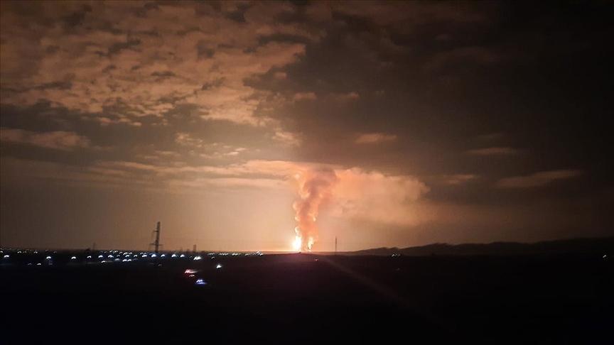 Kazakistan ordusuna ait depoda patlama: 60 yaralı!