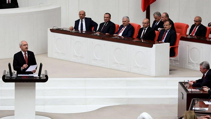 Kılıçdaroğlu dahil 20 vekilin dokunulmazlık dosyası Meclis'te