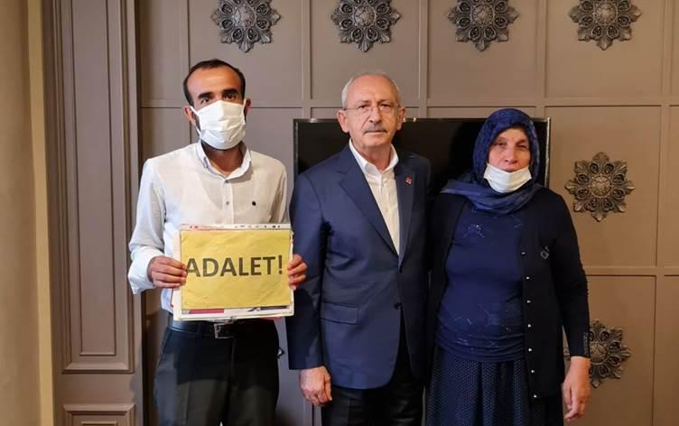 Kılıçdaroğlu, Şenyaşar ailesi ile görüştü!