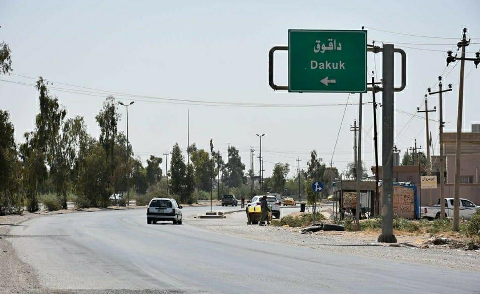 Kerkük'ün Daquq ilçesine bağlı 7 köy boşaltıldı!