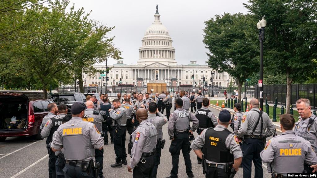 Washington'da sıkı güvenlik önlemi: Çatışmalar var!