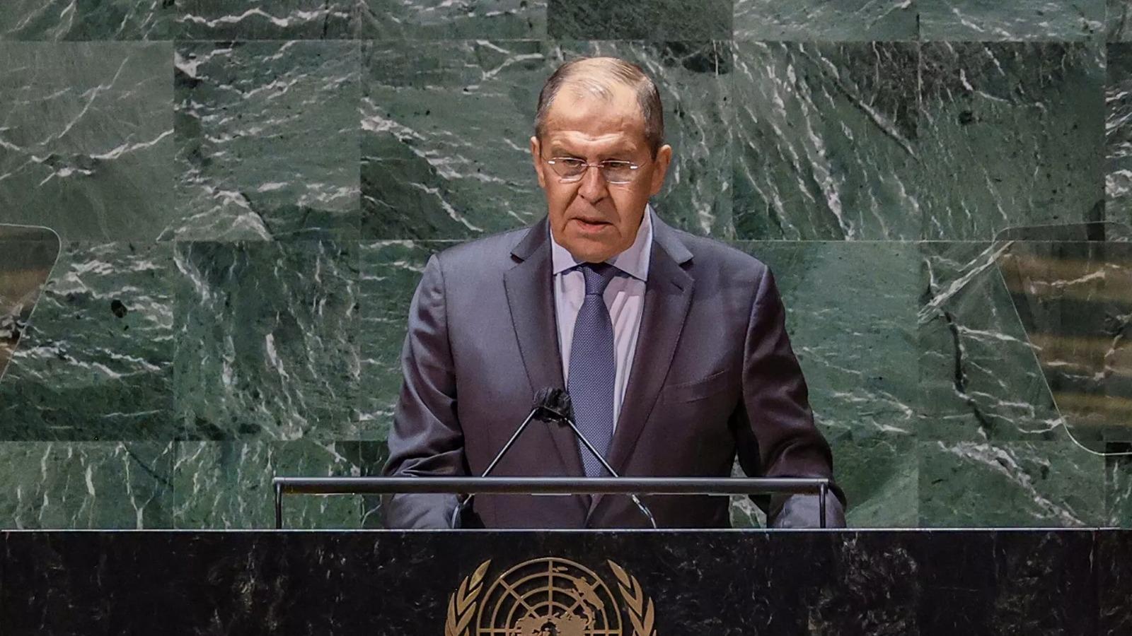 Lavrov, BMGK'da ABD ile yaşanan ihtilafları açıkladı