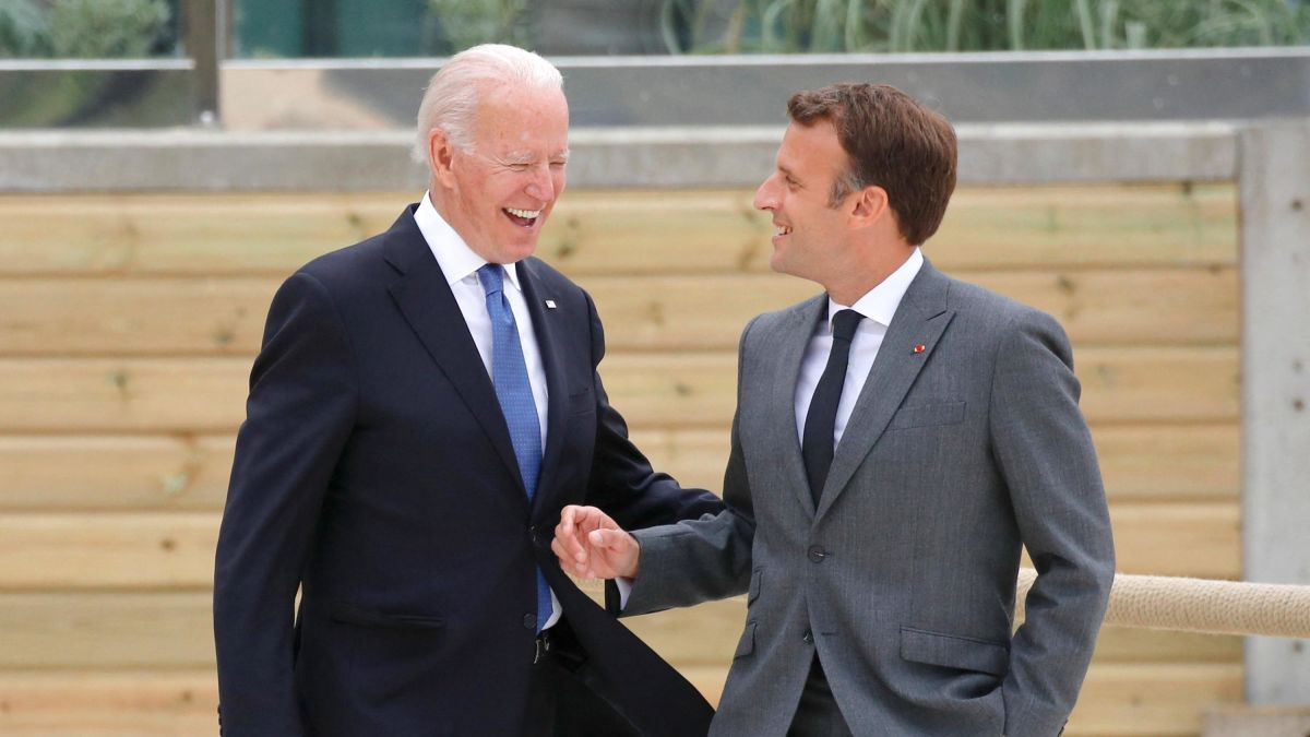 Macron: ABD geri döndü!