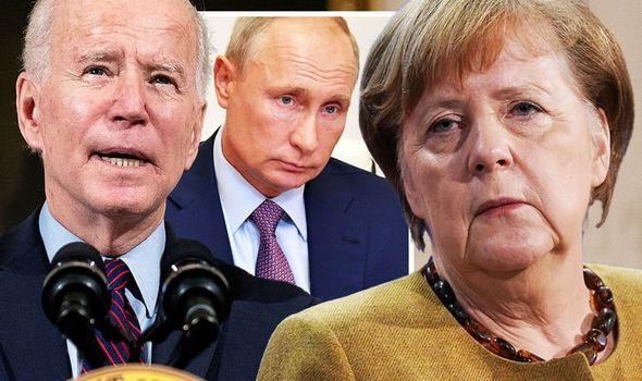 Biden ile telefonda görüşen Merkel, son kez Rusya'ya gidiyor!