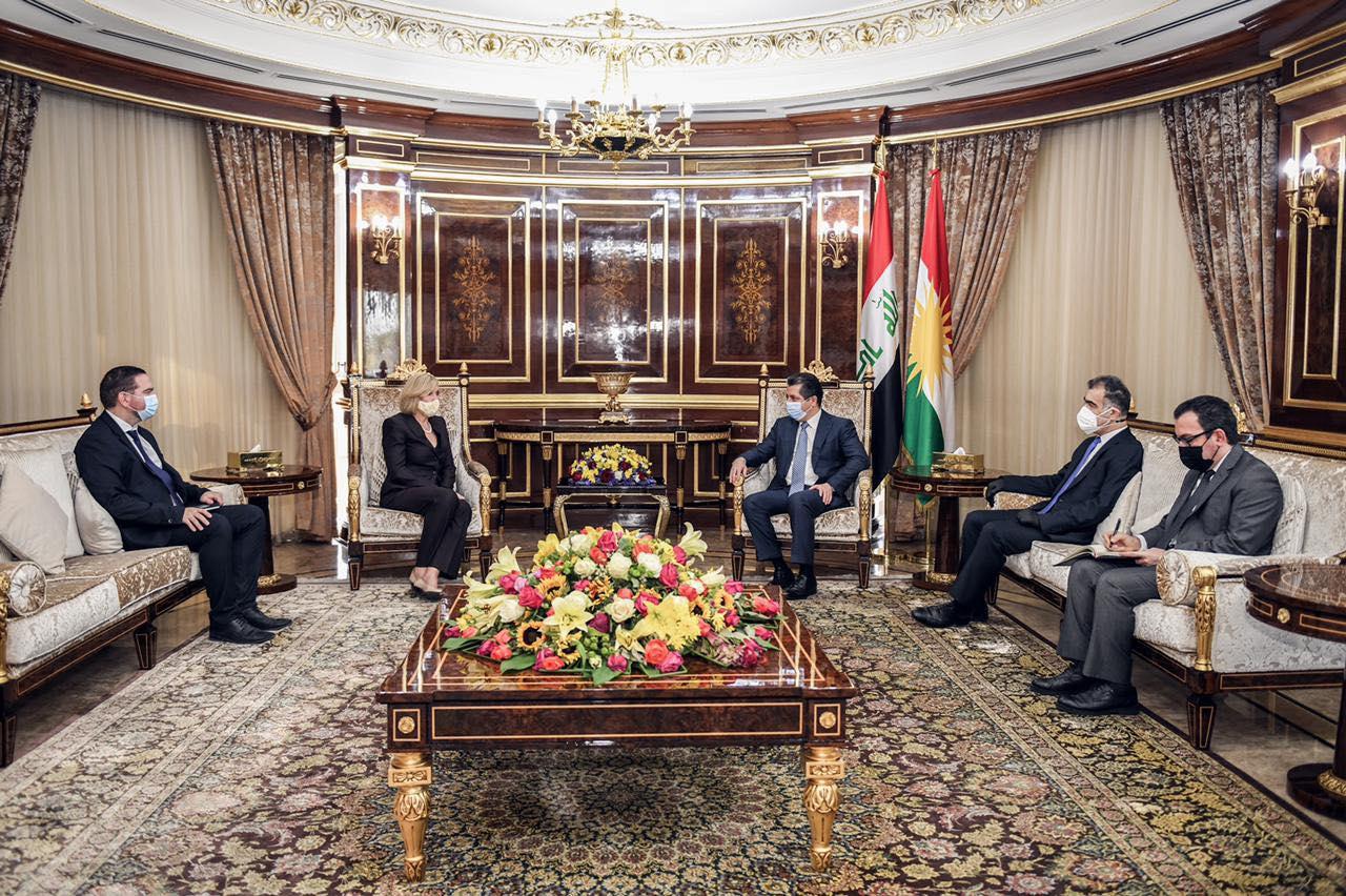 Başbakan Mesrur Barzani Avustralya Büyükelçisini kabul etti!