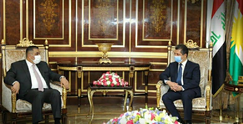 Başbakan, Irak Merkez Bankası Başkanı ile bir araya geldi