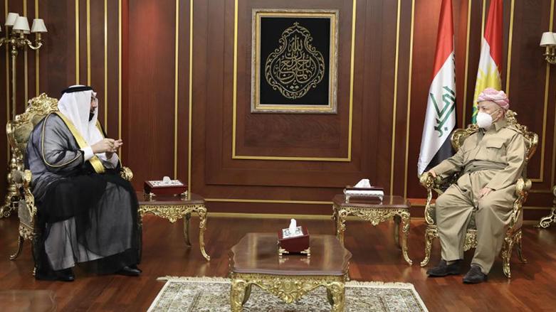 Başkan Barzani, Arap Şemmer aşireti liderlerini kabul etti!
