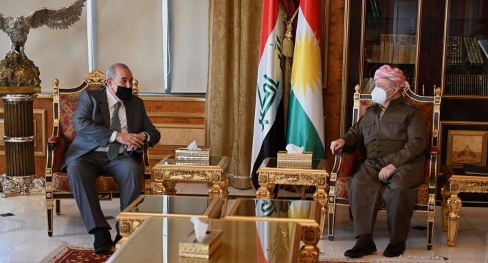 Başkan Barzani, Allawi ile Irak seçimlerini görüştü!