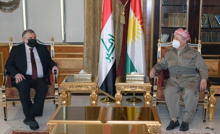 Başkan Barzani, Iraklı siyasi liderle görüştü!