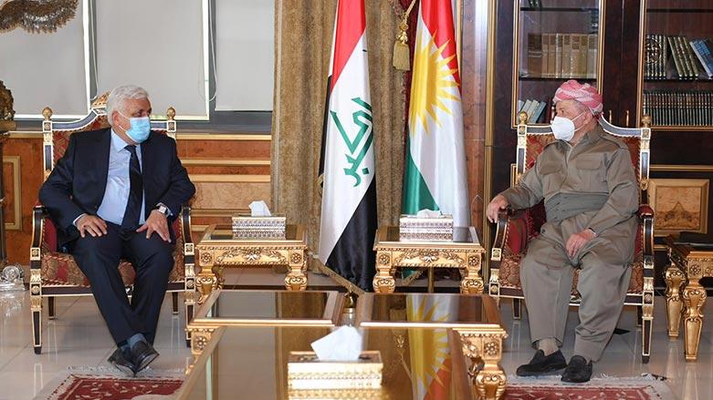 Başkan Barzani, Haşdi Şabi lideri ile görüştü!
