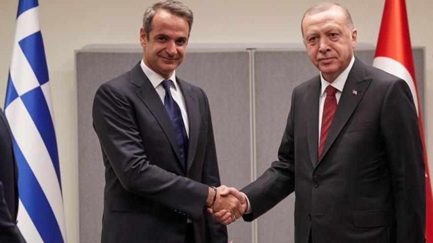 Erdoğan ile Miçotakis arasında kritik görüşme!