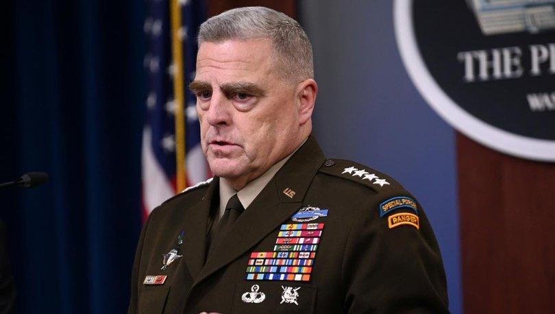 Milley'den Kabil uyarısı: Bir tehdit olursa askeri operasyonla yanıt veririz!