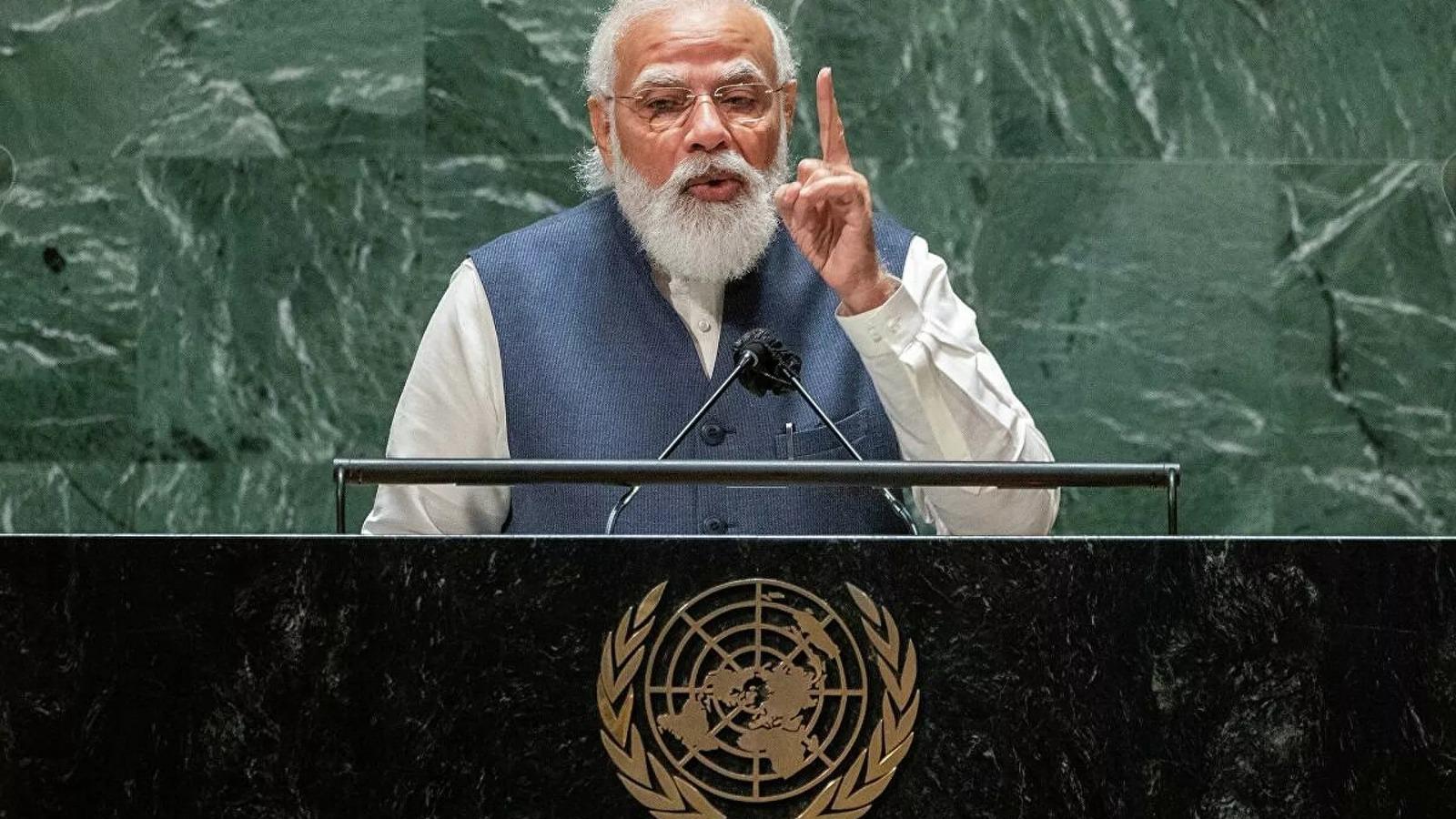 Modi: Afganistan, terörün yayılması için bir üs olmamalı!