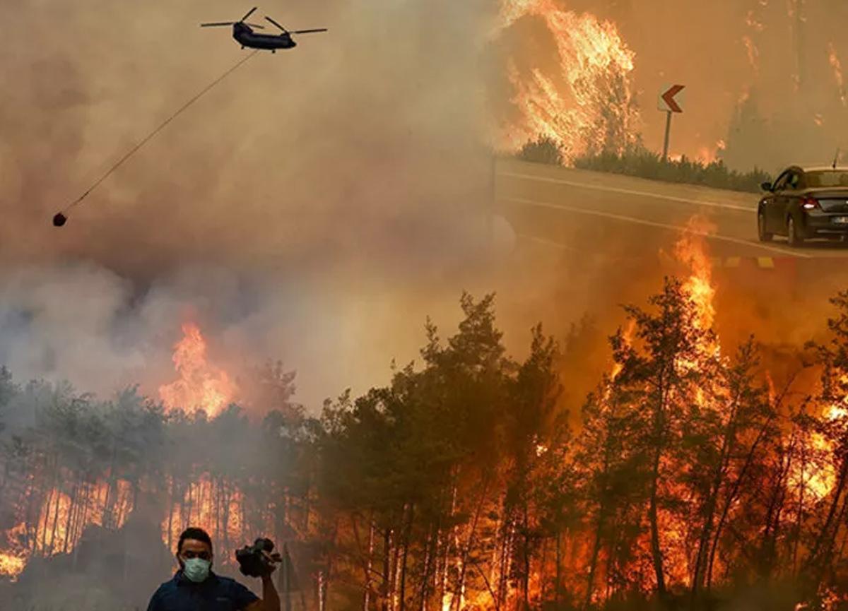 Türkiye'de yangınların etkisi: 35 bin kişi tahliye edildi!